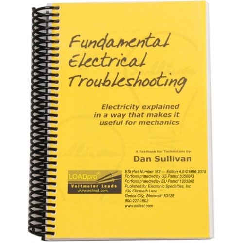Fundamental Electrical Troubleshtg Book- 200 pages
