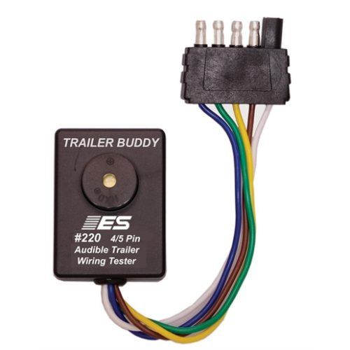 TRAILER BUDDY 4/5 PIN - ONE MAN TRAILER WIRING TES