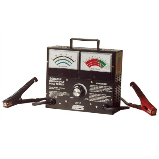 BATTERY TESTER CARBON PILE-500amp Clamps
