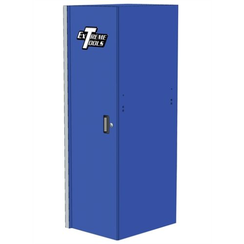 "Extreme Tools 19"" 3-Drw and 2-Shelf Side Locker BL"