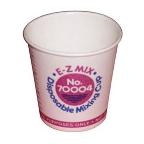 1/4 PINT DISPOSABLE MIXING CUPS 400/BOX
