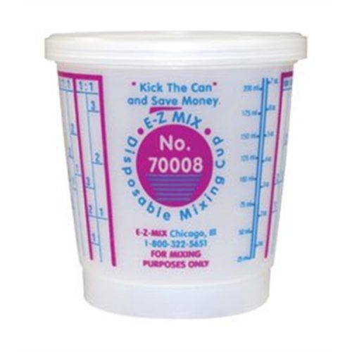 1/2 PINT DISPOSABLE MIXING CUPS 100/BOX