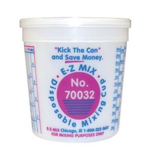 1 QUART DISPOSABLE MIXING CUPS 100/BOX