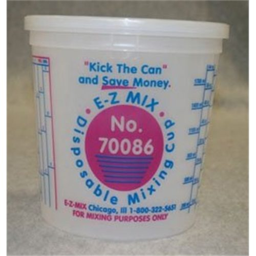 2 1/2 QUART DISPOSABLE MIXING CUPS 25/BOX