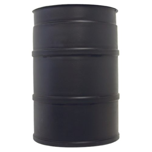 30 Gal Black Plastic Drum for Aqueous Pts Washers