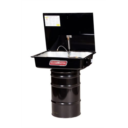 16 Gallon Drawn Tank Drum Mounted with Drum