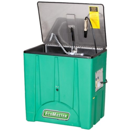 45 Gal Heated Parts Washer with Stainless Lid