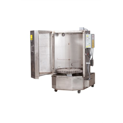 70 Gal SS Front Load 1 PH 230V Cabinet Washer