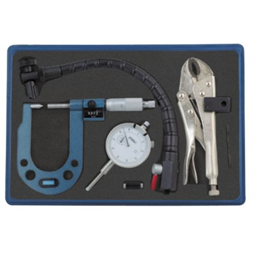 DISC & ROTOR/BALL JOINT GAGE W/MICROMETER KIT