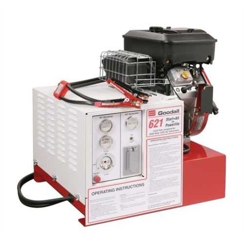 Start-All 12/24 volt 700 amp with AC Generator