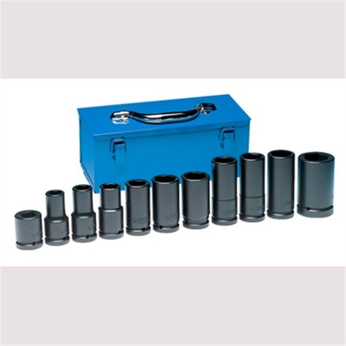 "TRUCK WHEEL SOCKET SET 3/4"" DR. 11 PC."