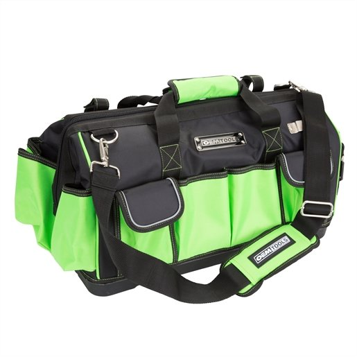 OEMTOOLS 24543 Wide Mouth Tool Bag with Rigid Bas