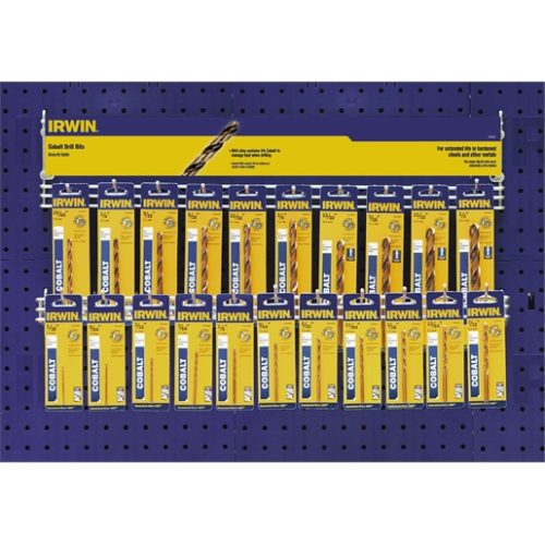 Drill Bit 42 pc. Cobalt Display