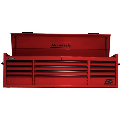 """72"""" RS PRO 12 DR TOP W/OUTL-RED"""