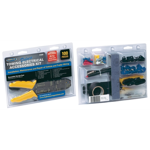 100 Pc Towing Elec Accessory Kit