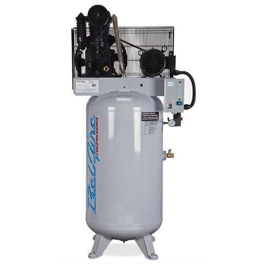 7.5hp 80 gal 2 stage cast iron series