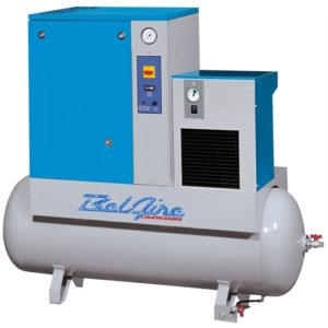 15hp rotary screw with dryer