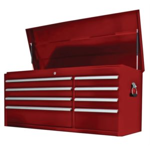 41 in. 8-Drawer Double Bank Chest