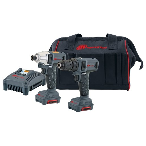 2 Piece Driver and Drill/Driver IQV12 Cordless Kit