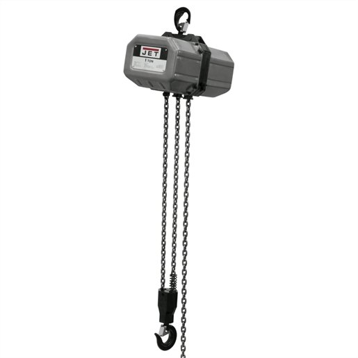 1SS-1C-20 1-TON, 1 PH ELECTRIC HOIST 20' LI