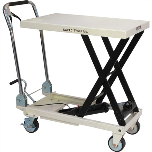 SLT-660F SCISSOR LIFT TABLE, 660 LB. CAPACITY
