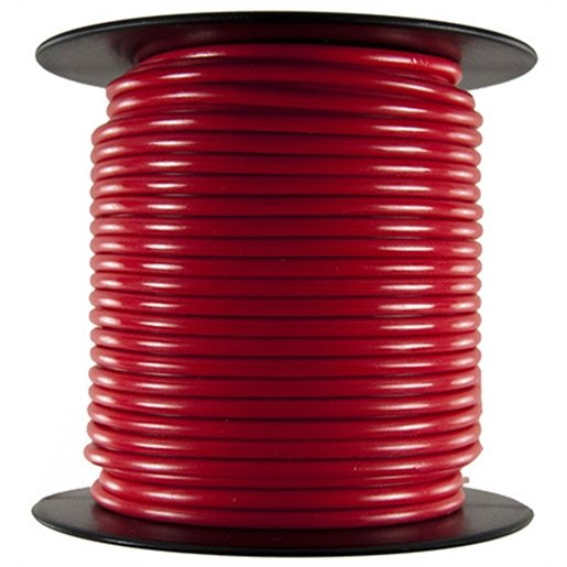 Primary Wire - 8 AWG, Red 25 Ft.