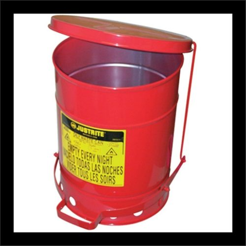 6 GAL OILY WASTE CAN W/LEVER