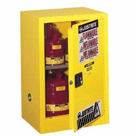 12G Flame Safe Cabinet Yellow