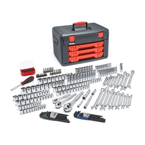 219-Piece Master Tool Set with Drawer Style Carry