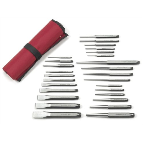 27 pc punch and chisel set