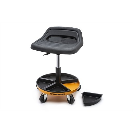 ROLLER SEAT WITH MAG. TRAYS