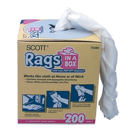 8 Cases-Scott Rags In A Box