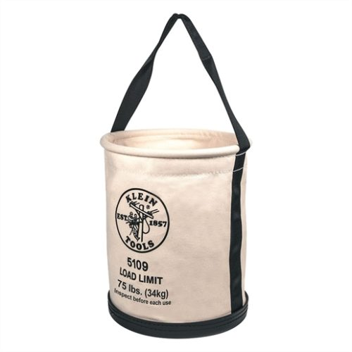 """Bucket #6 Canvas Wide-Opening Straight-Wall 12""""D x 15""""H"""