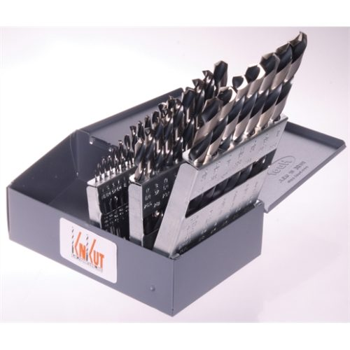 29 PC. STUBBY DRILL BITS 1/16-1/2 BY 64THS XXX