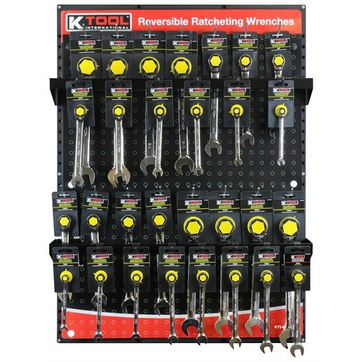 Ratcheting Wrench Display by KTI