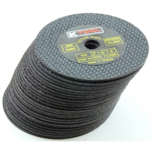 CUT-OFF WHEEL 3IN. X 1/16IN. 50/PK