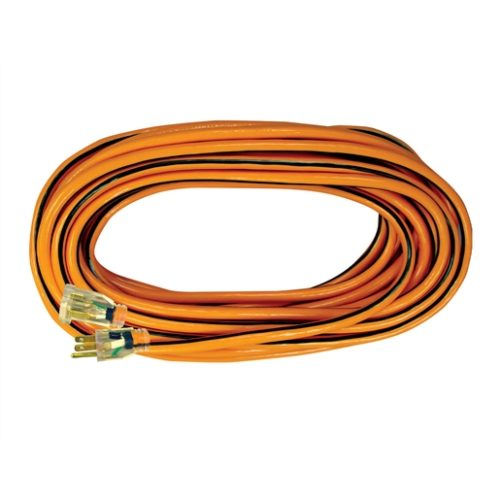 Ext Cord w/ lighted end 25 foo