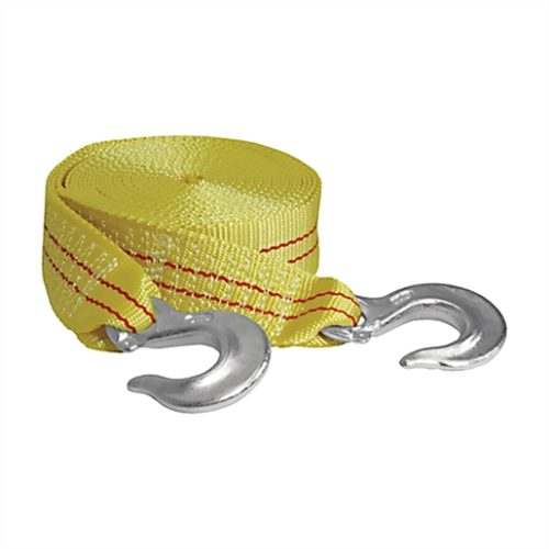 Tow Strap With Forged Hooks 2in. x 25ft. 10,000lb