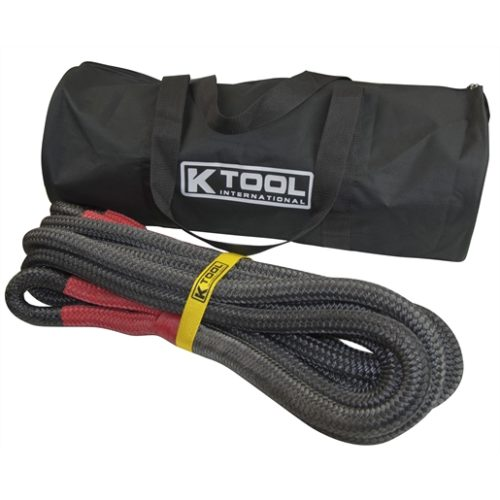 """Recovery Tow Rope 7/8"""" x 30', Red Eyes"""