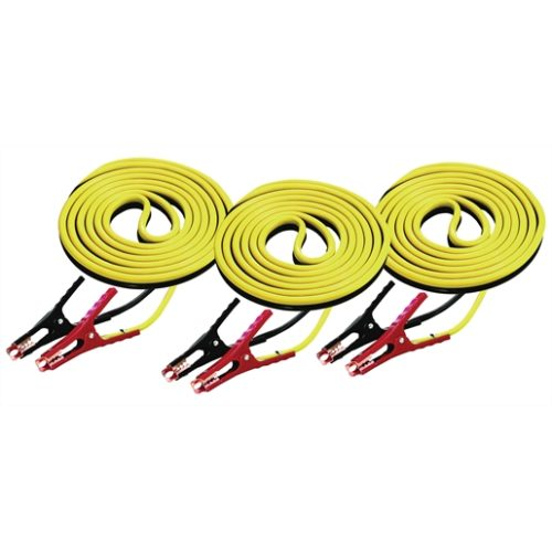 Battery Cables 12' 8 Ga 400 AMP - 3pk