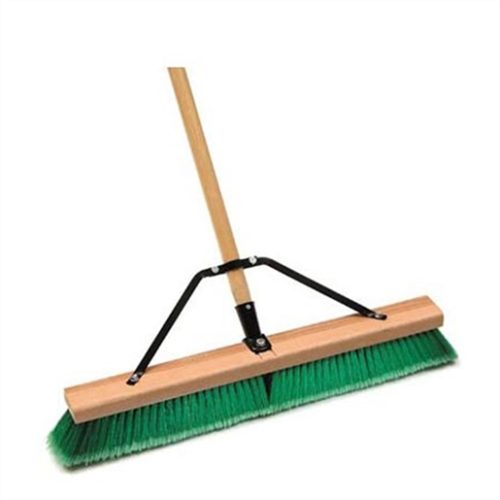 CONTRACTOR GRDE PUSH BROOM 24""