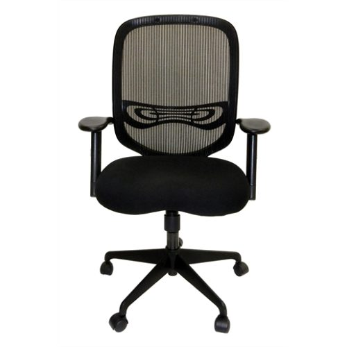 Chair, Office Mesh back w/ Fabric Seat