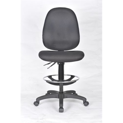 Workbench Chair -Deluxe Upholstered High Back