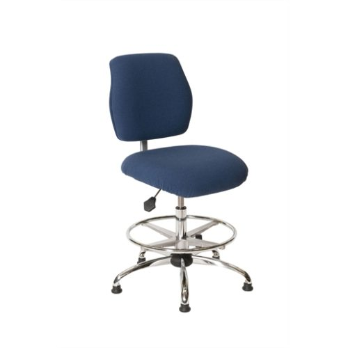 ESD Chair - High Height - Economy Blue
