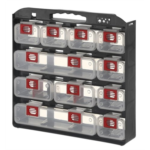 Storage Case 1- Sided 11 bins with Carry Strap