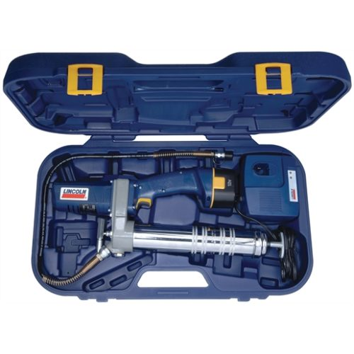 12 Volt DC Cordless PowerLuber® Grease Gun with Case and Charger
