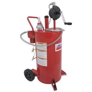25-gallon Fuel Caddy w/ 2-way Filter System