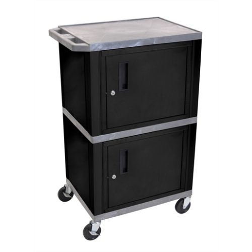 42 Tuffy A/V Cart Double Cabinet
