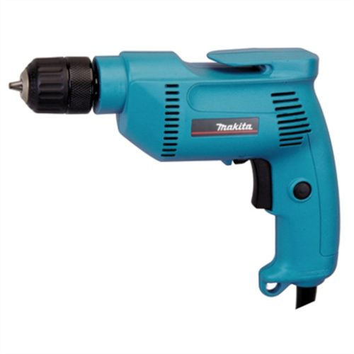 "Variable Speed 4.9Amp 3/8"" Drill, Corded, Keyless Chuck, 79dB"