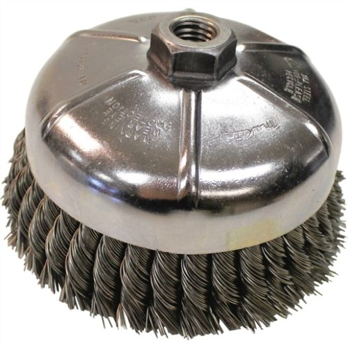 "6"" Knot-Type Wire Brush"